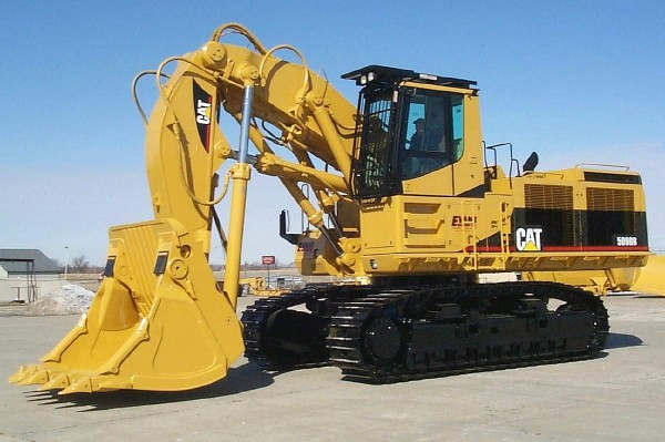 Crawler and track excavator
