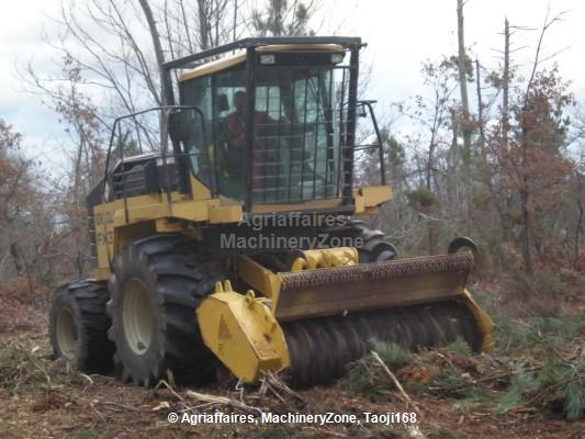Forestry crusher